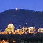Inspiration for Hibriten Mountain came from this structure, known as the Mill Mountain Star in Roanoke, VA